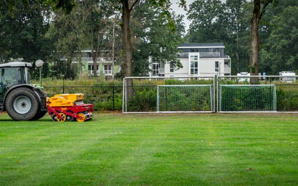Volledige renovatie sportvelden Zutphen