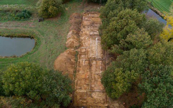 Bouwrijp maken terrein Stichting Erfgoed Landfort