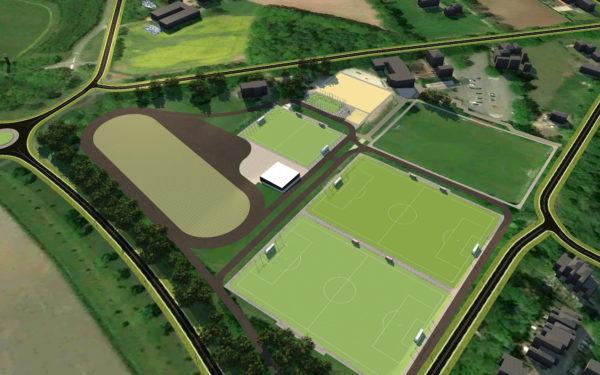 Ontwerp Sportpark Zuid in Aalten